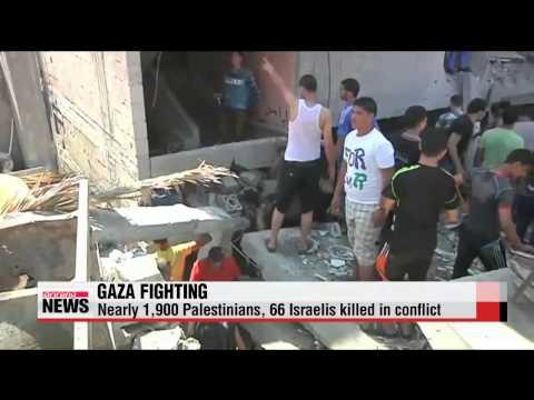 Israel, Palestinian leaders agree to 72-hour humanitarian ceasefire in Gaza