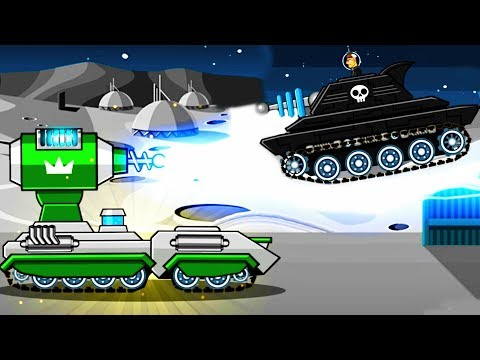 TESLA TANK vs LASERJAW TANK - Hills of Steel / Mobile Game for Kids Android Gameplay 2018