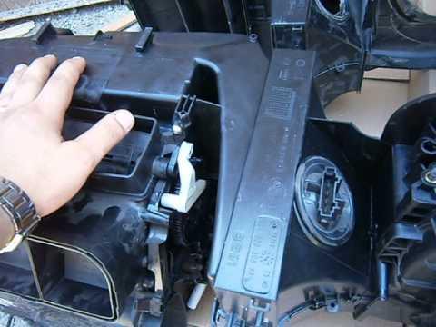Установка кондиционера на поло седан своими руками