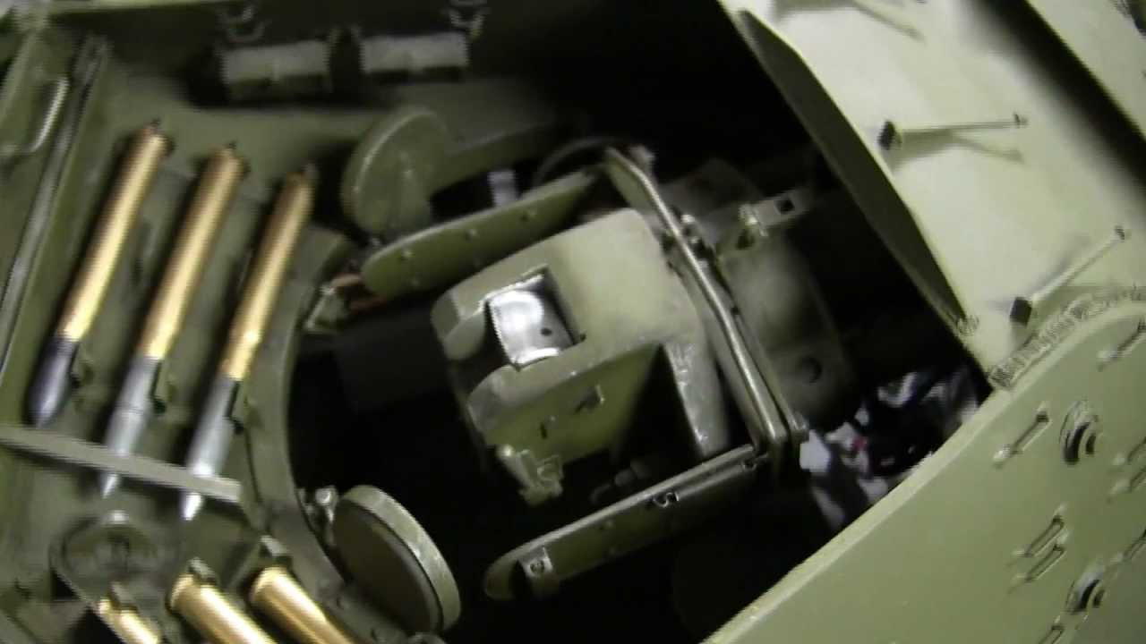 16th Scale M10 Tank Destroyer Showcase Video 2 Of 3 HD