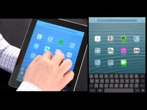 Actualizando un iPad a iOS 7 en video