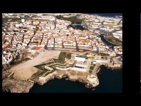 Peniche visto do c�u