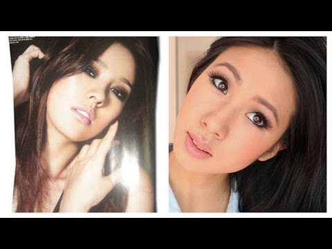 Makeup Tutorial: Hyori Lee Inspired Dark Smokey Eye Look (이효리 메이크업)