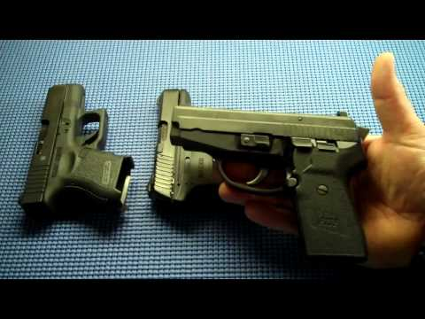 Glock 27. Ruger LC9. and SIG Sauer P239: Comparisons
