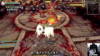 DragonNest INA Artillery solo TKN hell cap 93 6 menit!