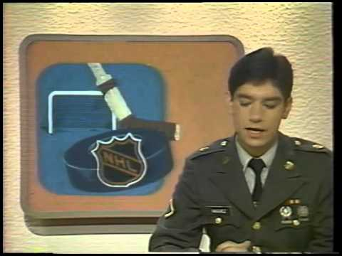 AFN Europe Evening News - Floyd Vasquez - 1982