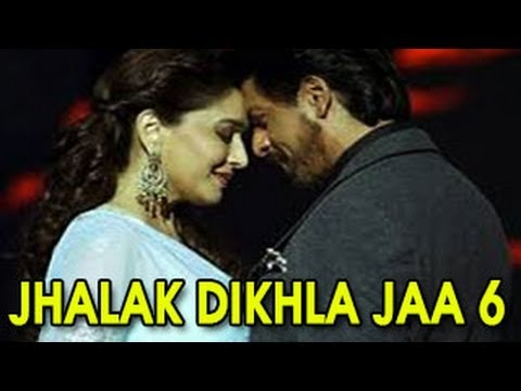 Shahrukh Khan Kisses Madhuri Dixit On Jhalak Dikhla Jaa 6 video