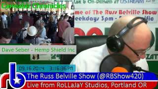 @RBShow420 #454 Cannabusiness Chronicles - Dave Seber from Hemp Shield at IntlCBC