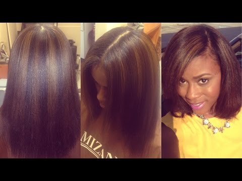 My Highlighted Natural Hair Story