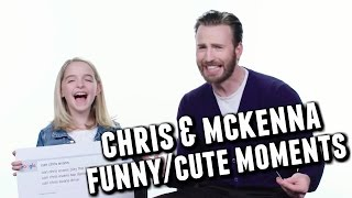 Chris Evans and Mckenna Grace Funny/Cute Moments