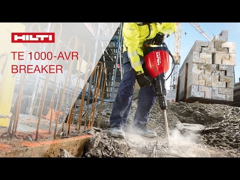 INTRODUCING the the next generation of the Hilti breaker TE 1000-AVR