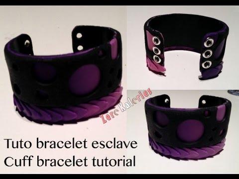 tuto bracelet corset 224 la zk cuff bracelet tutorial