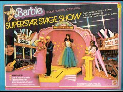 Vintage Barbie Fashion Show Stage Disco Barbie Track from the