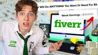 I WORKED on FIVERR for a WHOLE WEEK and made £__...