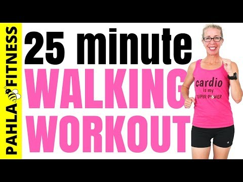 25 Minute INDOOR WALKING Workout | Why Meeting Your Goals ISN'T Hard