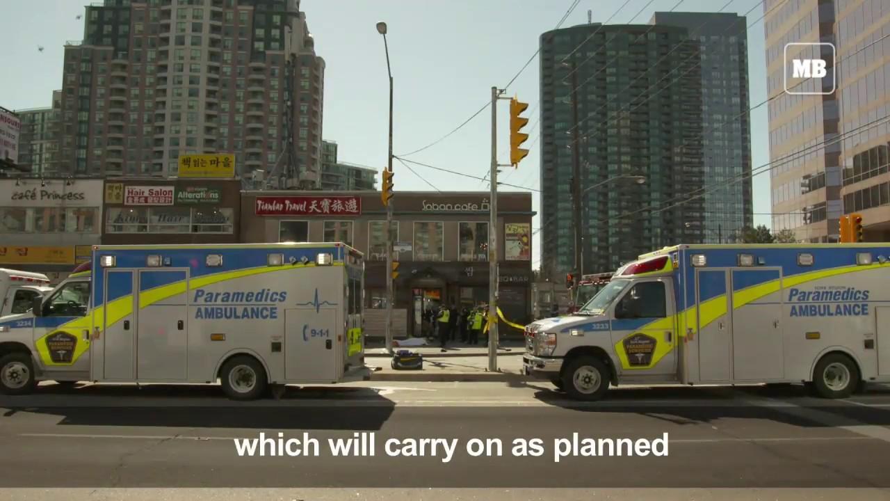 Man arrested after deadly van incident in Toronto