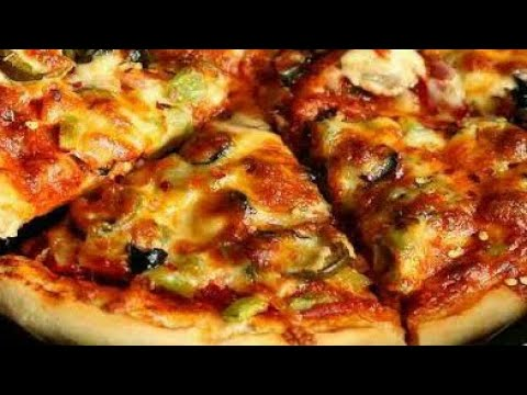 easy veg pizza recipe |veg pizza at home |veg pizza in oven | veg pizza at home in oven | pizza