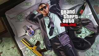 Grand theft Auto Online (PS4 Slim) Gameplay