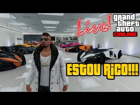 GTA 5 Online - Estou Rico- Glitch ao vivo Ps4