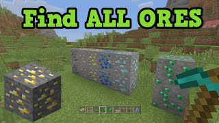 Minecraft - How To Find Every Ore