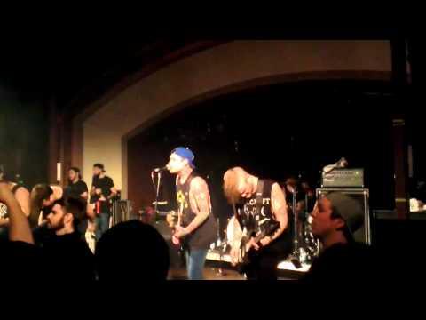 The Amity Affliction Open Letter Live Glasgow 2014