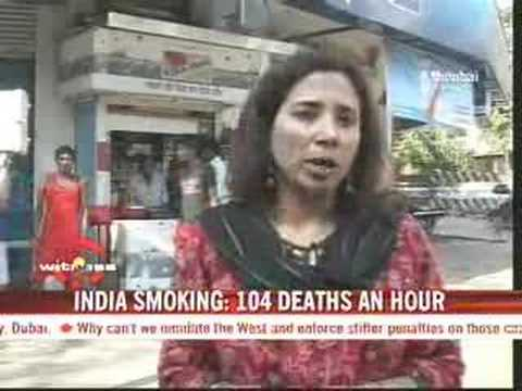 Smoking kills 104 per hour in India
