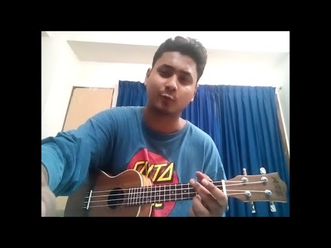 Bristi Dekhe Onek Kedechi Souls Ukulele Cover || Bangla Song