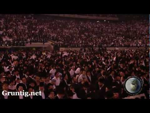 93,000 Jews Dancing At Siyum Hashas video