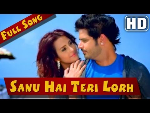 'sanu Hai Teri Lorh' - Full Video Song - Jatt Airways - Tulip Joshi , Alfaaz video