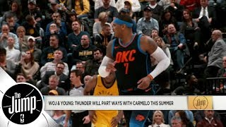 Carmelo Anthony and Thunder parting ways; will he end up with Bulls? | The Jump | ESPN