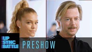 David Spade vs. Nina Agdal   Lip Sync Battle Preshow