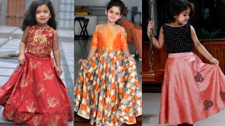Kids crop top lehenge design ideas/traditional outfits ideas for girls/Indo western outfits for girl