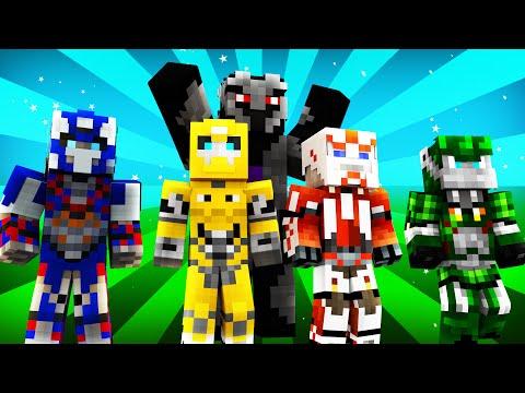 FNAF World - TRANSFORMERS! (Minecraft Roleplay) Night 15