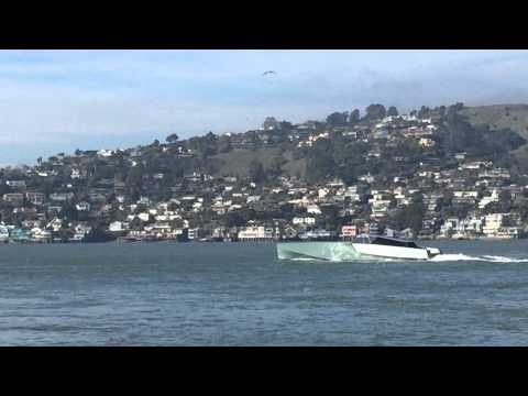 Mysterious Darth Vader Mega Yacht spotted in SF Bay