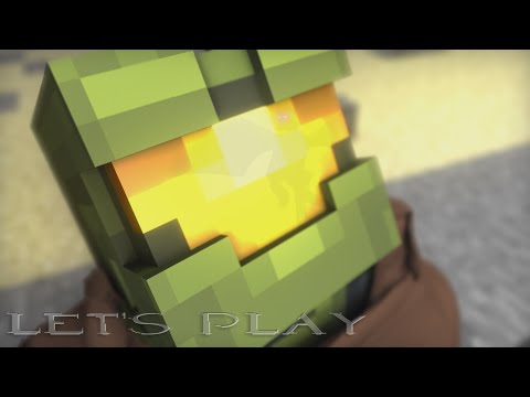 Minecraft Halo 5 Trailer (Achievement Hunter Fanimation)