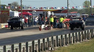 NOSTALGIA Super Stock DRAG RACING - MoKan Dragway
