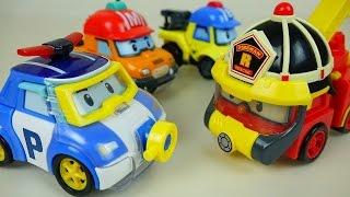 Water Poli car toys - New Robocar Poli Space Fireman Marine car toys - ToyPudding 로보카폴리