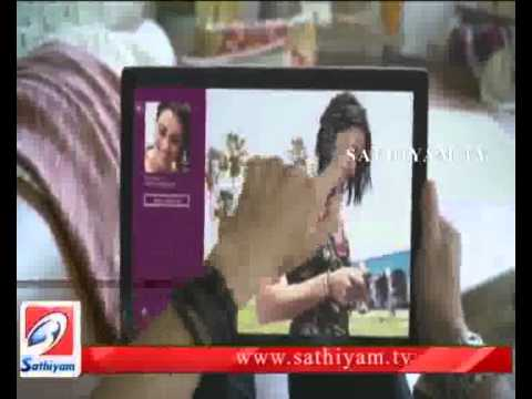 America - Microsft Niruvanathin Windows 8 Veliyeedu-Sathiyam Tv News