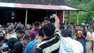Burial of Priya Reshma Pinto (23), Uppinangady