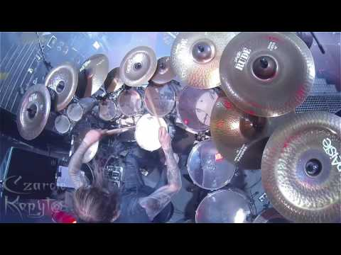 "Inferno BEHEMOTH ""Ben Sahar"" - Czarcie Kopyto drum cam 02.11.2016 Wroclaw Poland thumbnail"