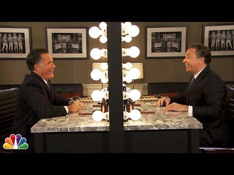 «Mitt in the Mirror» with Mitt Romney & Jimmy Fallon