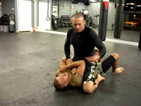 Crave Fitness - Submission Grappling - Triangle from the Mount