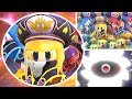 Kirby Star Allies Soul Melter EX - The Three Mage Sisters x4 Vs All New Bosses & Astral Birth Void