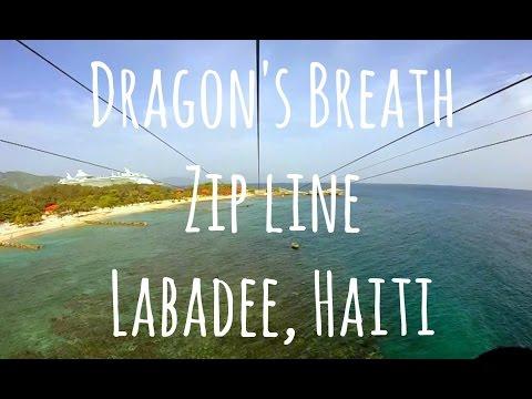 Dragon's Breath Zip Line Haiti - Royal Caribbean