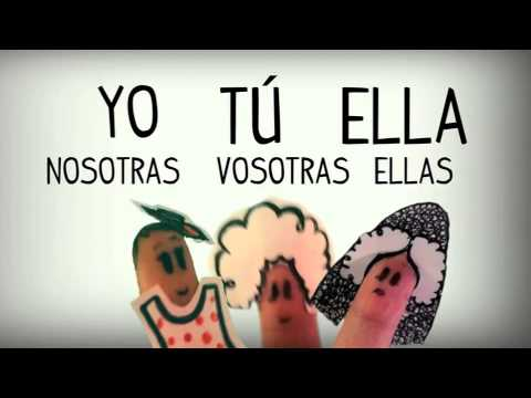 Los Pronombres Personales En Español, Cancion. Aprender Español