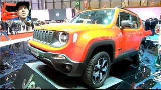 JEEP RENEGADE  4x4 E PLUG IN HYBRID ALL NEW MODEL 2019 WALKAROUND AND INTERIOR