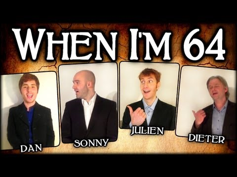 When I'm Sixty Four 64 (The Beatles) - A Cappella Barbershop Quartet