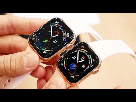 Смотрим новые Apple Watch Series 4