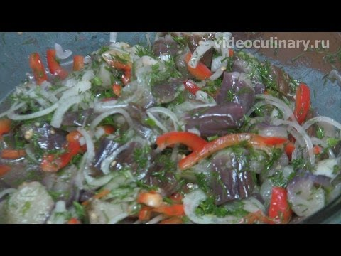 Баклажаны по-корейски - Рецепт Бабушки Эммы