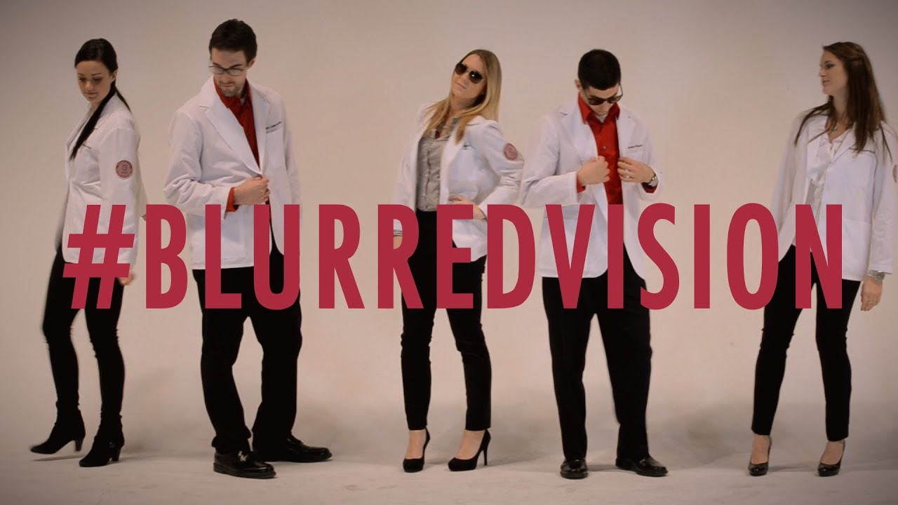 blurred vision blurred lines optometry parody youtube